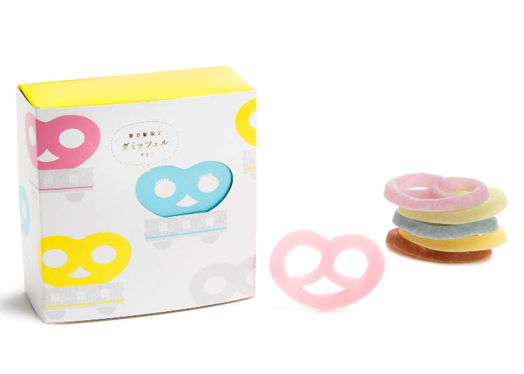 #5 Gummytzel, 6 in a Box (Hitotsubu Kanro/Gransta) for 800 Yen (Tax Included)