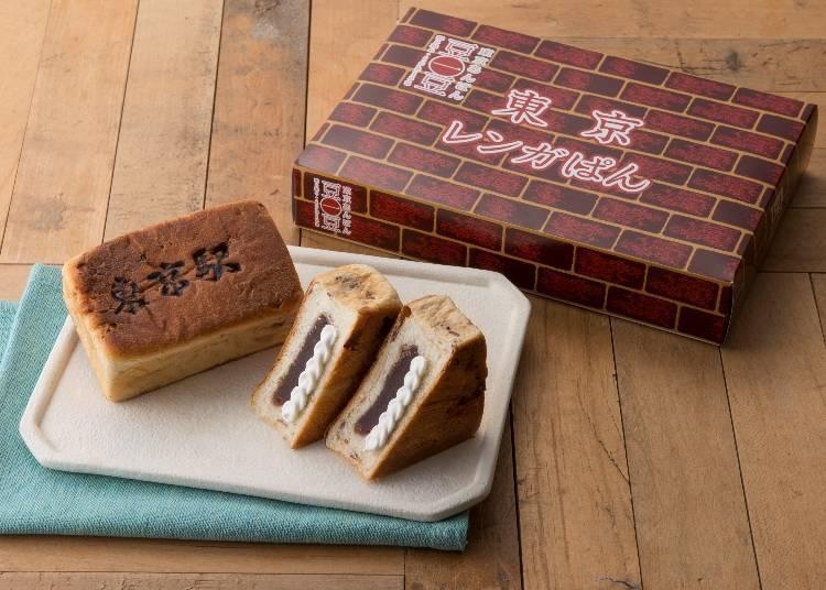 【第三名】東京紅磚紅豆麵包(東京紅豆麵包豆一豆/ecute東京)含稅287日圓
