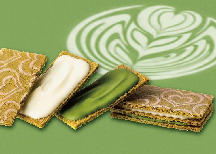【第七名】抹茶巧克力夾心餅乾 5入(銀之葡萄/GRANSTA)含稅560日圓