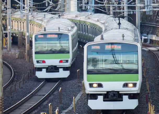 東京最簡單一日行程!沿著JR山手線!不轉車、不怕坐過站 盡情吃喝玩樂!