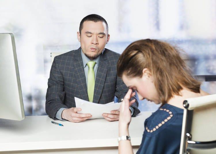 日本面試彷彿在等待判決一般,氣氛hen凝重!