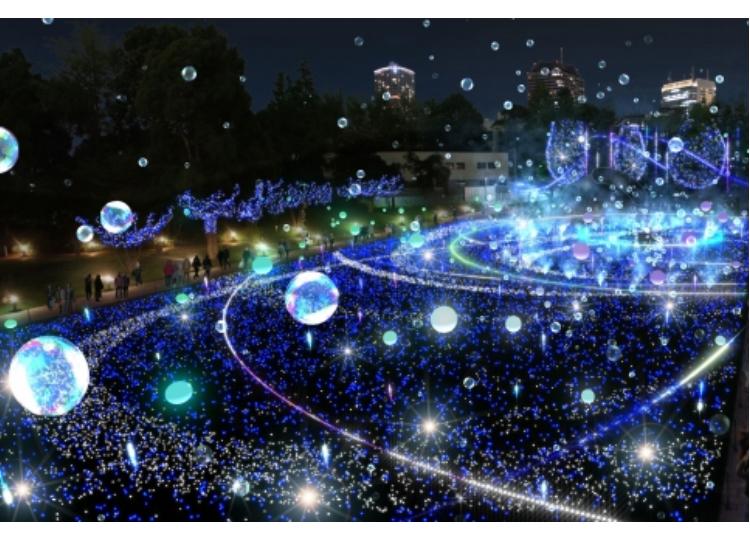 1. Roppongi Hills and Roppongi Midtown 2019: Vast and romantic illuminations!