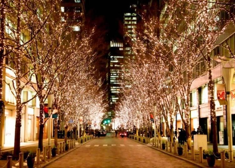 7. Marunouchi 2019: Tokyo's traditional holiday lights
