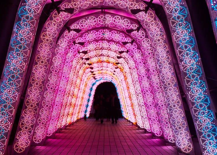 도쿄돔 시티 TOKYO DOME CITY WINTER LIGHTS GARDEN