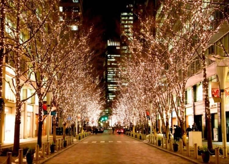 【丸之內燈飾2019】日本夜景遺産,璀璨、環保的聖誕燈飾
