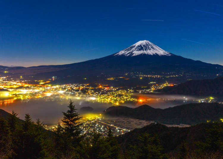 Where to see Mount Fuji: The Kawaguchiko Area