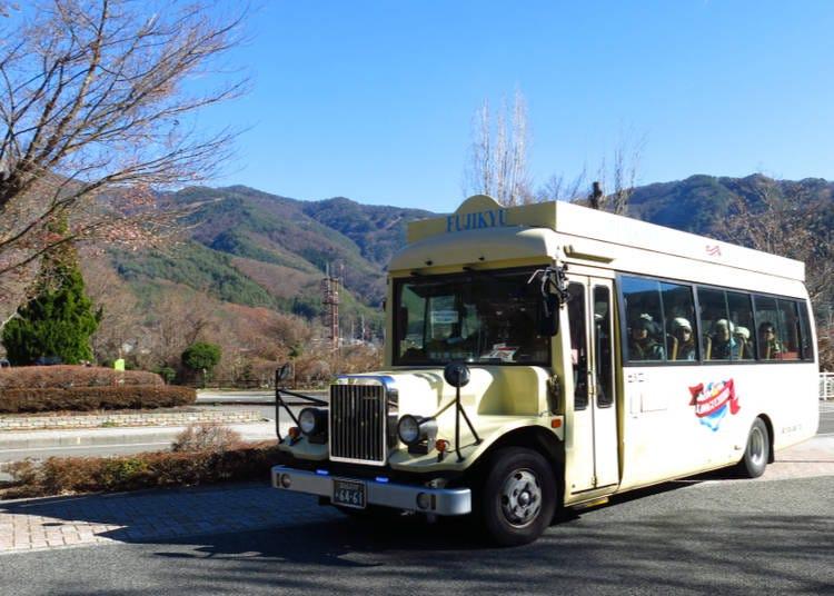 Seeing Mount Fuji: Loop Buses around Lake Kawaguchi
