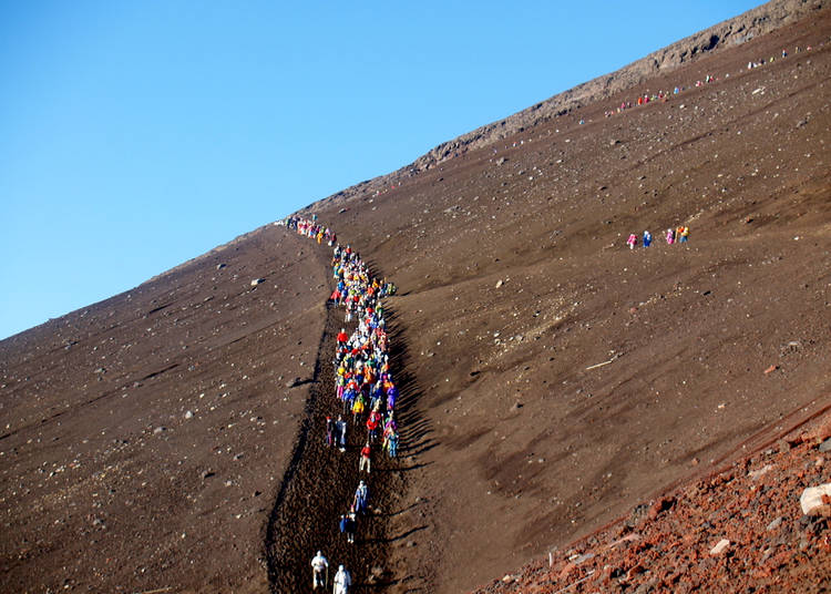 How to Climb Mount Fuji: The other hiking paths