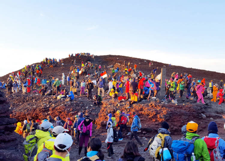 Points to note before climbing Mount Fuji