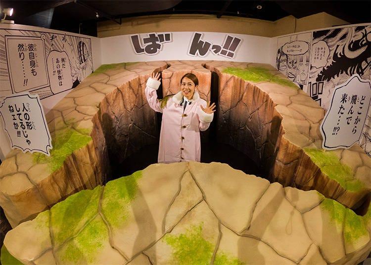 走進漫畫場景!四皇凱多掉入的洞穴(5F)