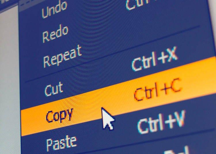 """""""Copipe"""" (コピペ) - Copy and paste"""
