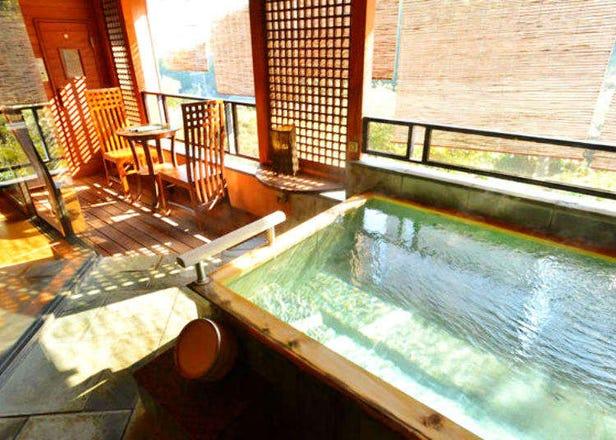 카나가와 유가와라 온천- 숨겨진 료칸 '만요노사토 하쿠운소'에서 여유로운 한때를 즐겨보자.