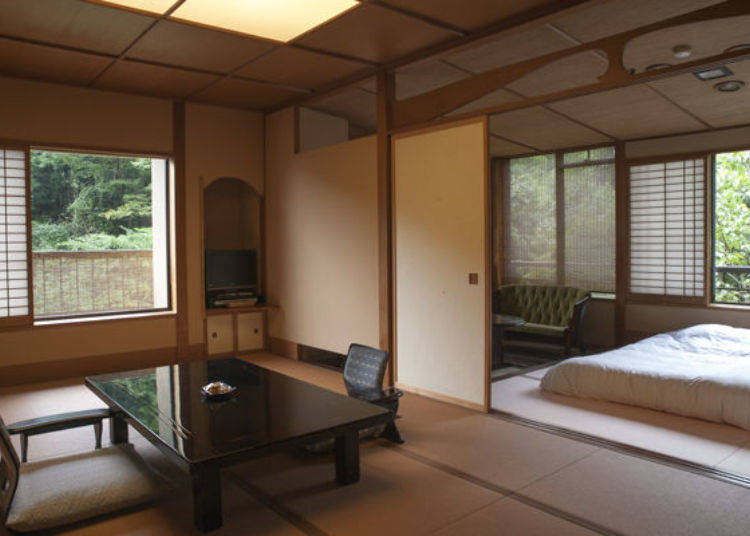 Feeling the Breath of Nature in the Open Rooms
