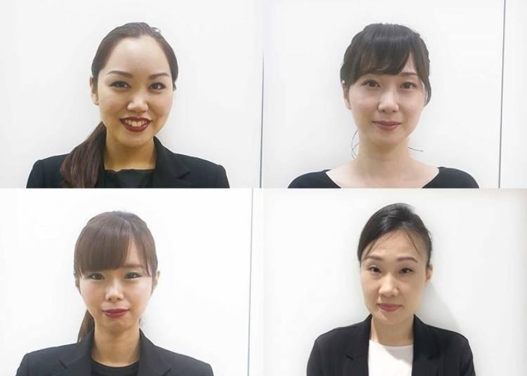 挑選美妝產品的好夥伴!美女解說員在這裡為女孩兒們服務。最新美容資訊報你知