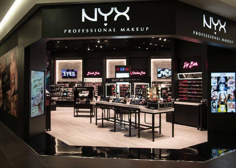 嚴選的美妝商店都在3樓