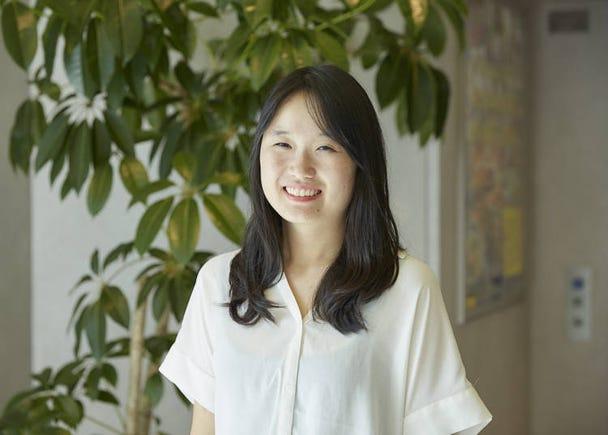 이번에 리포트를 담당해 준 한국인 아영씨!