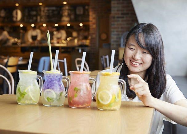 편리한 신주쿠 미로도 식당가. 다양한 장르의 가게가 모여 있어 즐겁다!