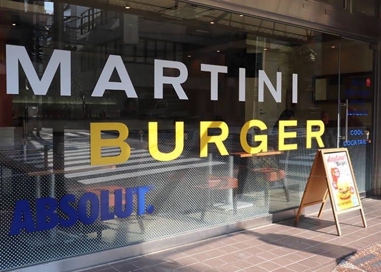 1. Martini Burger in Kagurazaka