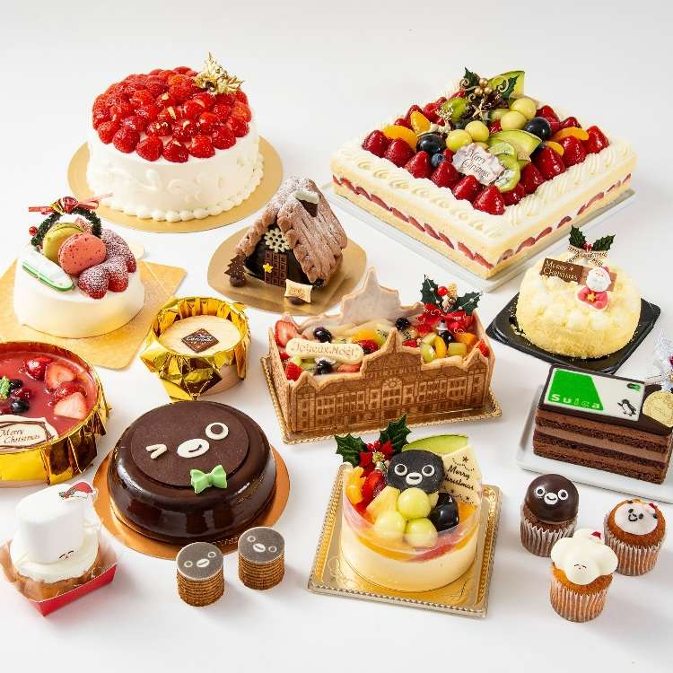Japanese Christmas Cake.Tokyo S Gorgeous Christmas Cakes Of 2018 Fresh From Gransta