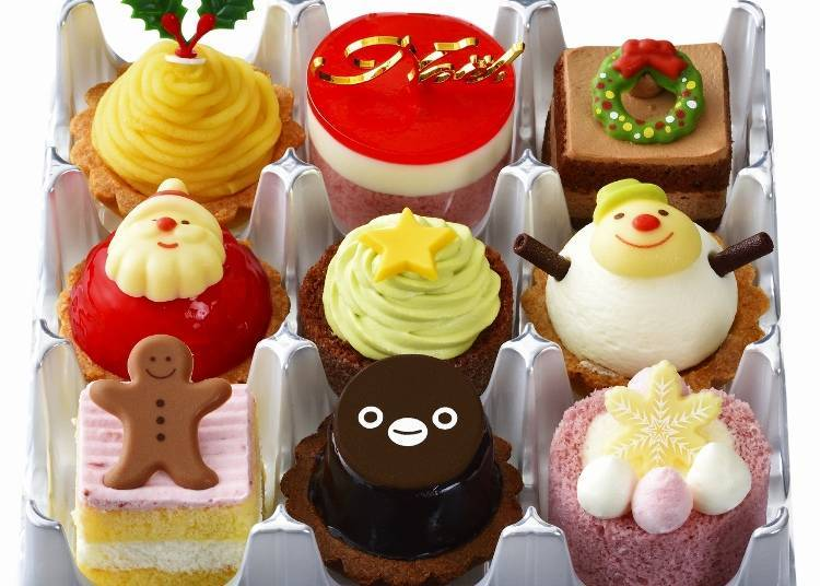 Suica Penguin Christmas Party (box of 9) / Ginza Cozy Corner