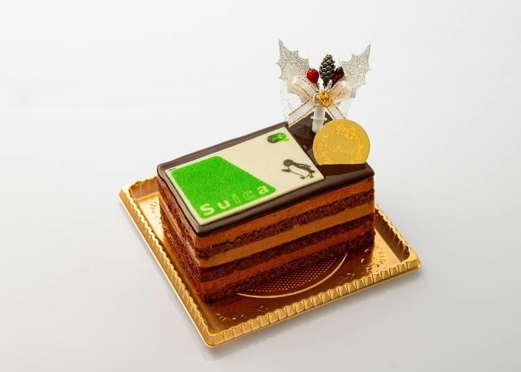 「Caffarel Suica卡片造型蛋糕」/ Caffarel