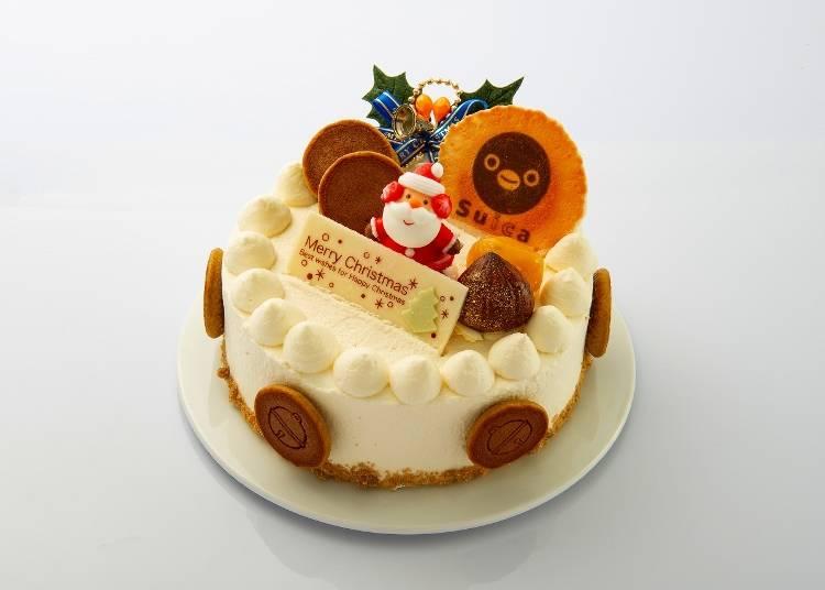 「抹茶銅鑼燒聖誕蛋糕」/ 元町 香爐庵