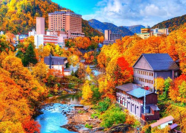 1. Hokkaido: Fall foliage forecast