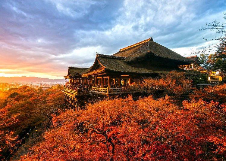 6. Kansai: Best time for autumn colors