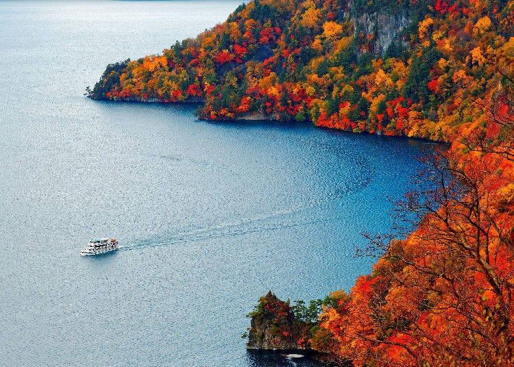 3. Lake Towada in Aomori and Akita Prefecture