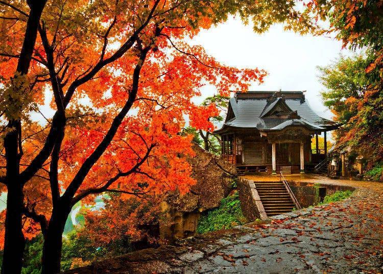4. Risshaku-ji Temple (Yama-dera) in Yamagata Prefecture