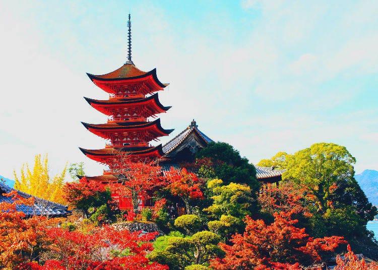 8. Itsukushima in Hiroshima Prefecture