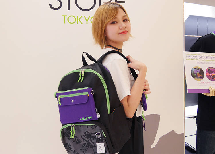 6) EVA-01 Backpacks: Take Your Favorite Show Wherever You Go!