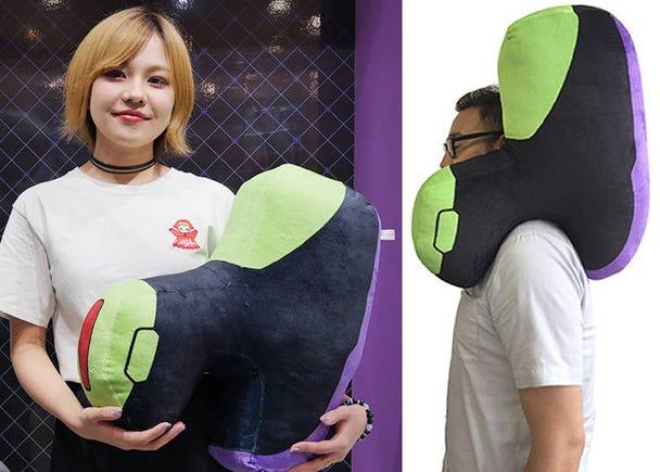 7) Shoulder Pylon Pillow: The Cutest and Most Unique Pillow Ever!