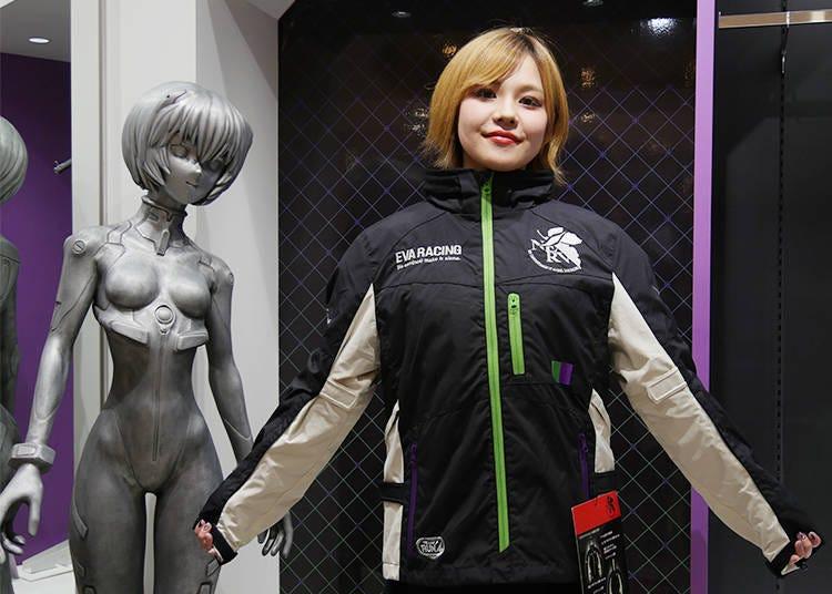 8. エヴァンゲリオンレーシング ライダージャケット:エヴァとともに街へ繰り出そう