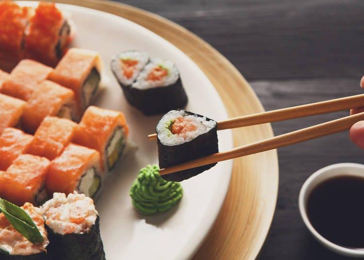3. Eat sushi as soon as it arrives!