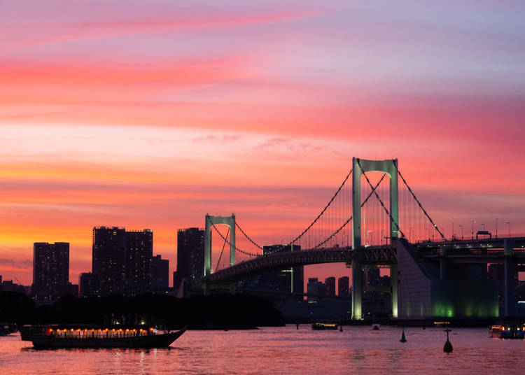 Best Time of Day to Visit Odaiba