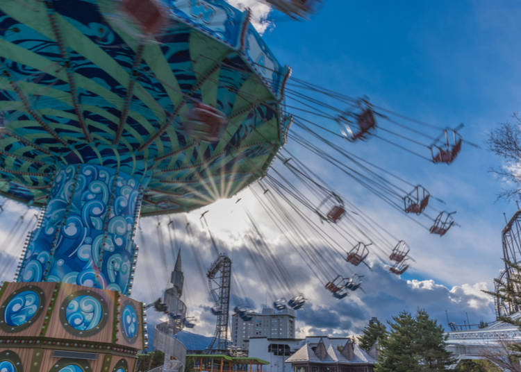 8. Great weather makes for great times at theme parks!