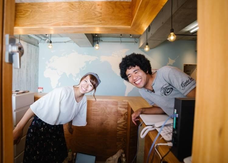 2. Caravan Hub - Make connections at this friendly hostel in Narita City
