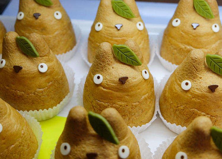 Studio Ghibli Fan? Here's Where to Get Exclusive Totoro Cream Puffs in Tokyo!
