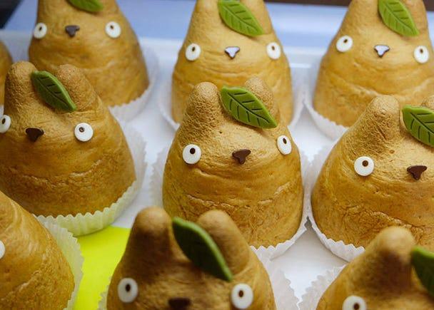 Totoro Cream Puffs: 9 Varieties of Cute Custard!