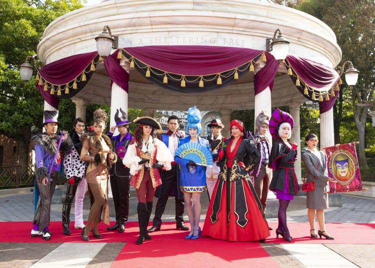 迪士尼反派角色的大舞台——「壞蛋手下們的萬聖節派對」
