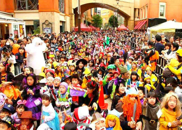 Ultimate Kawasaki Day Trip! Experience Japan's Largest Halloween Parade, Stay for the Sights!