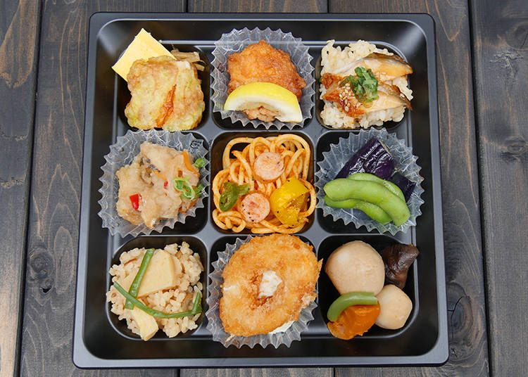 A Bento Example: The Isekai Izakaya Nobu Bento Box