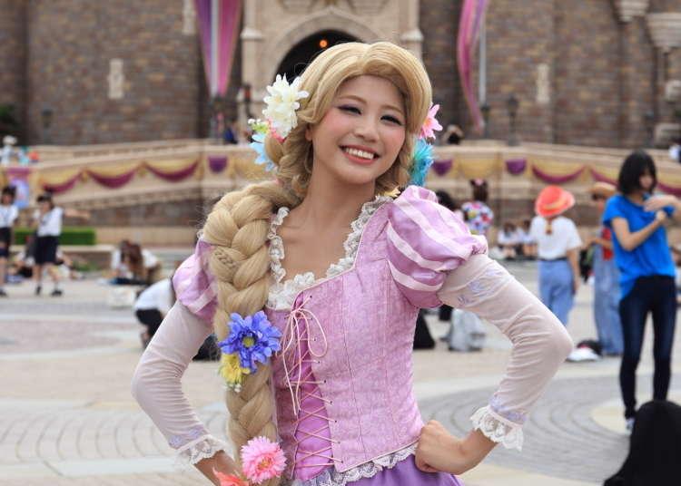 도쿄 디즈니랜드,디즈니씨 -연차를 내면서까지 참가하는 사람도?! 할로윈 기간에만 할수있는 코스프레 게스트에게 인터뷰를 해봤다!