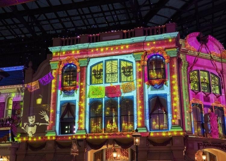 萬聖節期間慶典大道將播放東京迪士尼樂園的歷年萬聖節歌曲