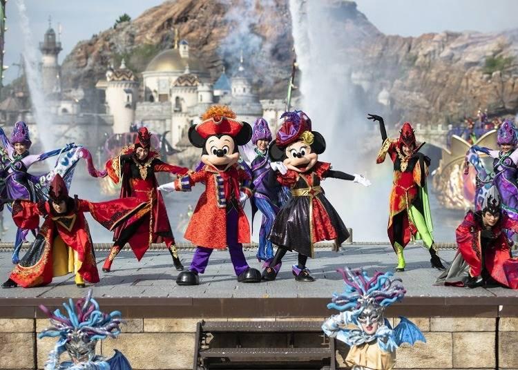 反派出頭天!東京迪士尼海洋戶外表演「壞蛋天地(ザ・ヴィランズ・ ワールド)」今年也不容錯過!