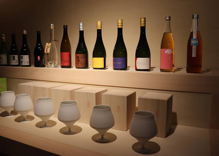 ■ Enjoy Hidetoshi Nakata's Selection of Umeshu and Japanese Sake and Talk to the Brewers!