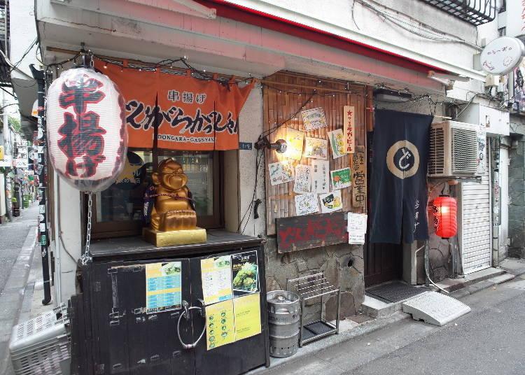 Dongaragasshare Honten: Japanese Izakaya-style pub with a relaxed atmosphere