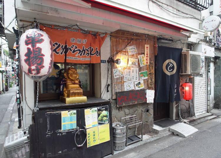 日本の居酒屋スタイルが気軽に楽しめる「どんがらがっしゃん本店」