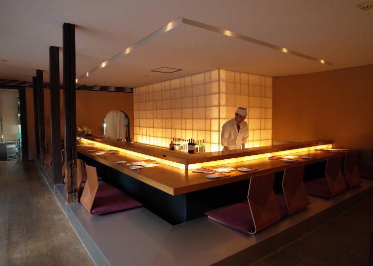 雰囲気たっぷり!落ち着いた空間で京都のおばんざいを味わえる「茶茶 花」